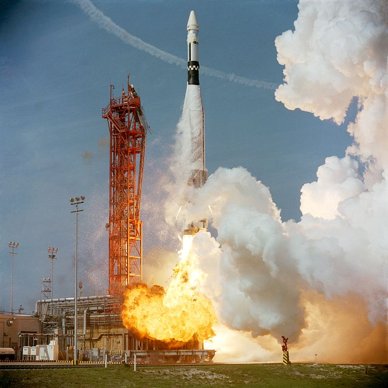 Space Rocket History #73 – Gemini VIII with Neil Armstrong ...