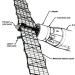 Pegasus Micrometeoroid Detection Satellite Deployed