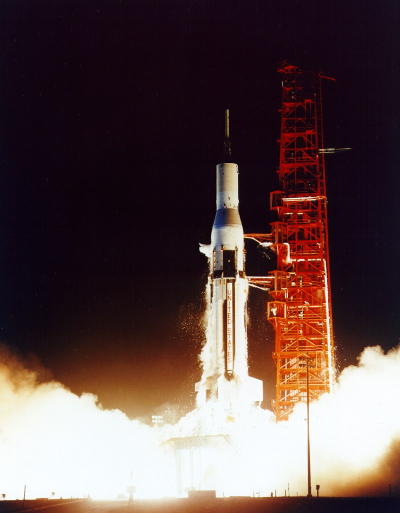 Manned Space Flight Space Rocket History