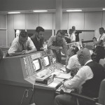 Kraft in Mission Control for Gemini 5