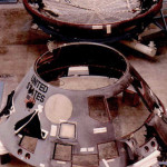 Apollo 1 Command Module disassembled for the investigation