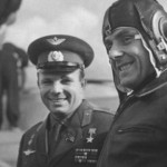 Kamarov with Gagarin