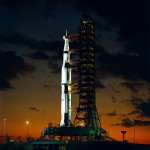 Apollo 4 the night before the launch