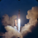 Apollo 5 lift off