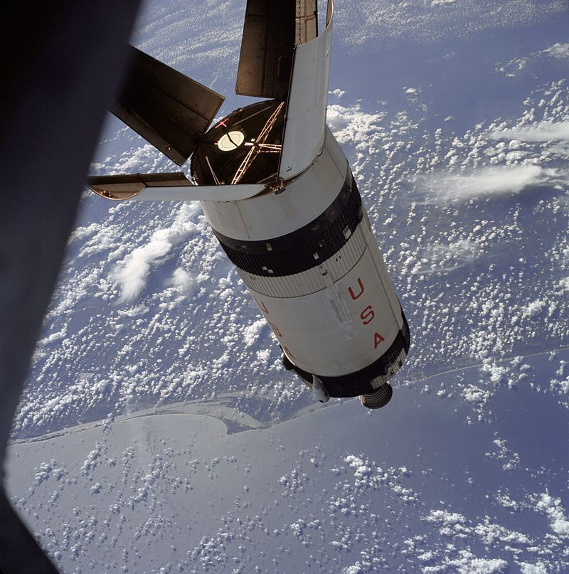 Space Rocket History #156 – Apollo 7-The Flight Part 1 ...