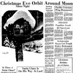 Apollo 8 Christmas Eve around the Moon
