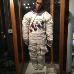 Rusty Schweickart's Practice Suit for Apollo 9. Pic taken at Wallops
