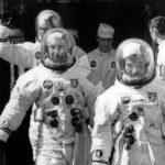 Apollo 10 crew on the way to Pad 39B